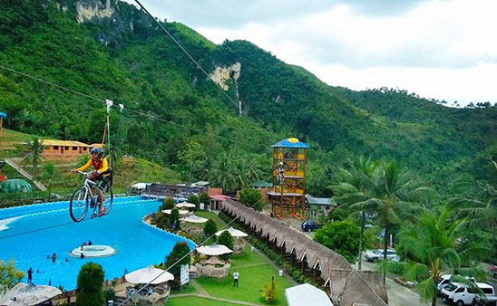 Hidden Valley Wave Pool / Zipline and Zip Bike